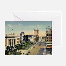 Florida Ave., Tampa, Florida Vintage Greeting Card