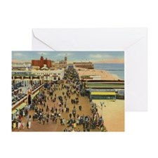 Boardwalk, Asbury Park, New Jersey V Greeting Card