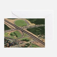 Lincoln Tunnel, New Jersey Turnpike  Greeting Card