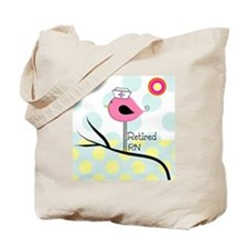Retired RN pillow 2 Tote Bag