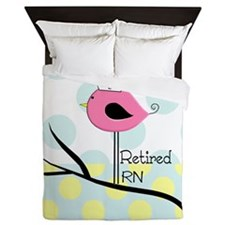 Retired RN pillow 2 Queen Duvet