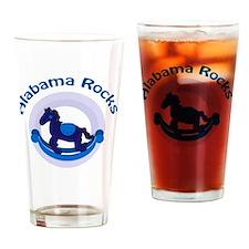 Alabama Rocks Blue Drinking Glass