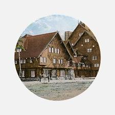 "Old Faithful Inn, Yellowstone Park, Vi 3.5"" Button"