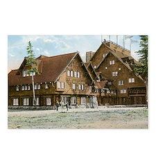 Old Faithful Inn, Yellows Postcards (Package of 8)