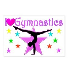GYMNAST CHAMP Postcards (Package of 8)