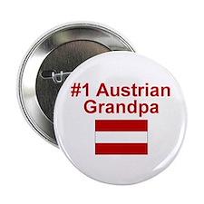 """#1 Austrian Grandpa 2.25"""" Button"""