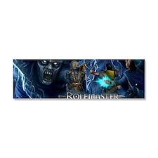 Rolemaster banner Car Magnet 10 x 3