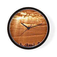SunBeam Farm Wall Clock