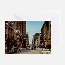 Playhouse Square, Cleveland, Ohio Vi Greeting Card