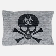 Skull  Crossbones (brick) Pillow Case