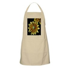 Abstract Yellow Flowers Apron