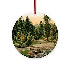 Washington Park, Portland, Oregon,  Round Ornament