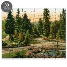 Washington Park, Portland, Oregon, Vintage Puzzle