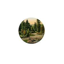 Washington Park, Portland, Oregon, Vin Mini Button