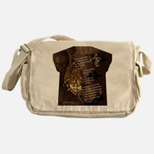 Ancestors - Womens All Over Print T- Messenger Bag
