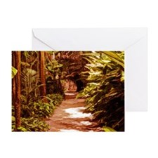 Tropical Path Greeting Card