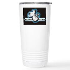 d6 logo black Travel Mug