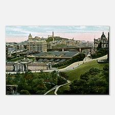 Edinburgh, Scotland, Vint Postcards (Package of 8)
