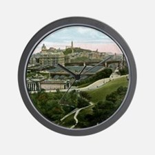 Edinburgh, Scotland, Vintage Wall Clock