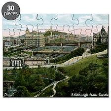 Edinburgh, Scotland, Vintage Puzzle