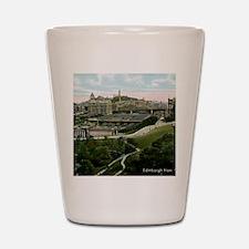 Edinburgh, Scotland, Vintage Shot Glass