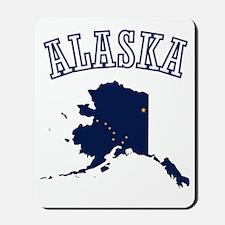 Alaska Map Design Mousepad