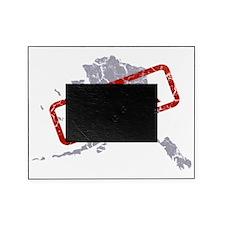 Alaska Map Made in Alaska Grey Picture Frame