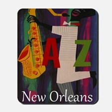 Vintage New Orleans Travel Mousepad