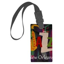 Vintage New Orleans Travel Luggage Tag