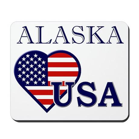 Alaska USA Flag Mousepad