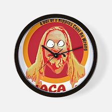 Ithaca Hippie Wall Clock