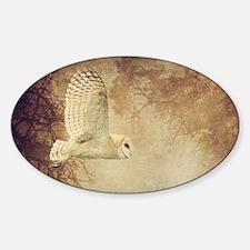 Barn Owl Decal