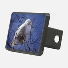 Snowy White Owl, Blue Sky Hitch Cover