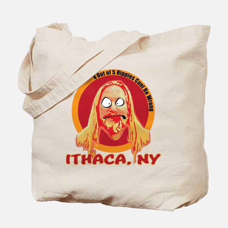 Ithaca Hippie 2 Tote Bag