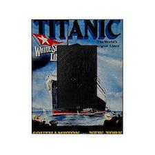Vintage Titanic Travel Picture Frame