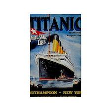 Vintage Titanic Travel 3'x5' Area Rug