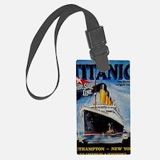 Vintage Titanic Travel Luggage Tag