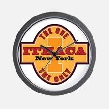 Ithaca Ny The One and Only Wall Clock