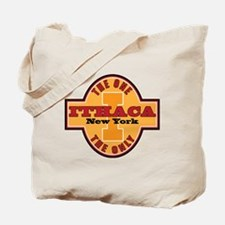 Ithaca Ny The One and Only Tote Bag