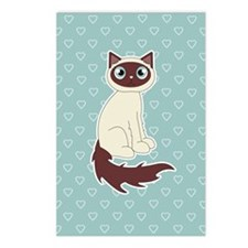 Cute Ragdoll Cat - Siames Postcards (Package of 8)