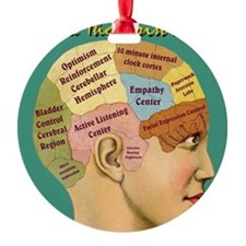 Inside a Therapists Brain Ornament