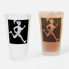 Running Without ED Drinking Glass
