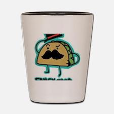 Taco mustache Shot Glass