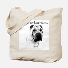 Shar Pei Happy Tote Bag