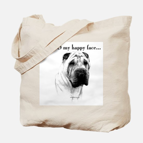 Shar Pei Happy Tote Bag