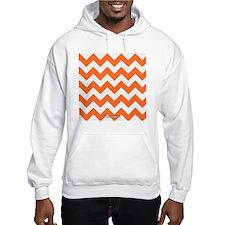 Chevron Orange Hoodie