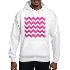 Chevron Pink Hoodie