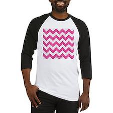 Chevron Pink Baseball Jersey