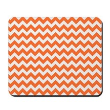 Chevron Orange Mousepad