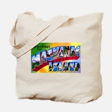 Mackinac Island Michigan Tote Bag